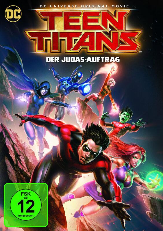 Teen Titans - Der Judas-Auftrag DVD Bild