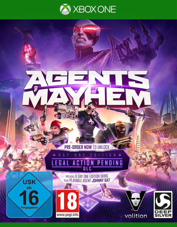 Agents of Mayhem (Day One Edition) XBox One Bild