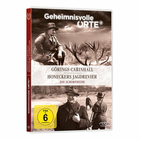 Geheimnisvolle Orte - Die Schorfheide DVD Bild