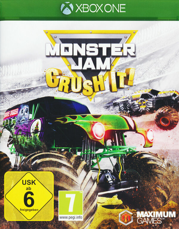 Monster Jam - Crush it! XBox One Bild