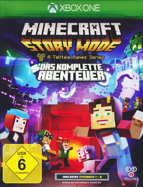 Minecraft: Story Mode - Das komplette Abenteuer XBox One Bild
