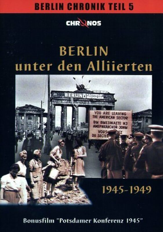 Berlin unter den Alliierten 1945-1949 DVD Bild