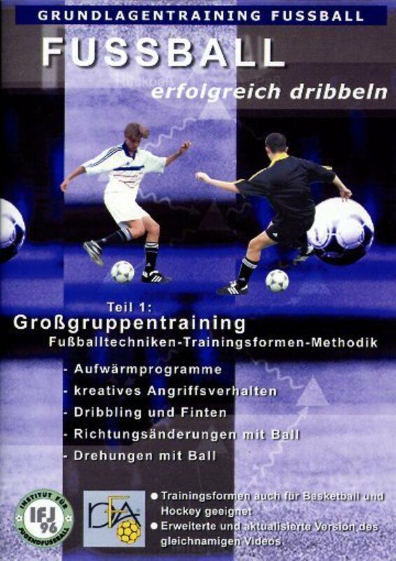 Fußball - Erfolgreich dribbeln DVD Bild