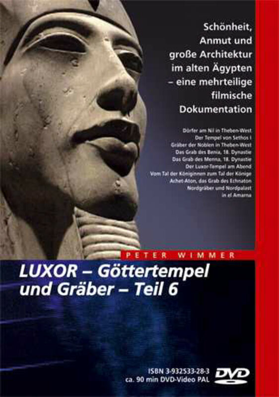 Luxor - Göttertempel und Gräber Teil 6 DVD Bild