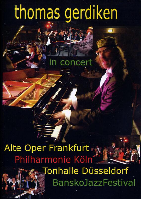 Thomas Gerdiken in Concert DVD Bild