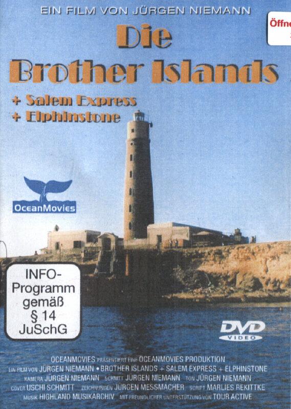 Die Brother Islands - Rotes Meer DVD Bild