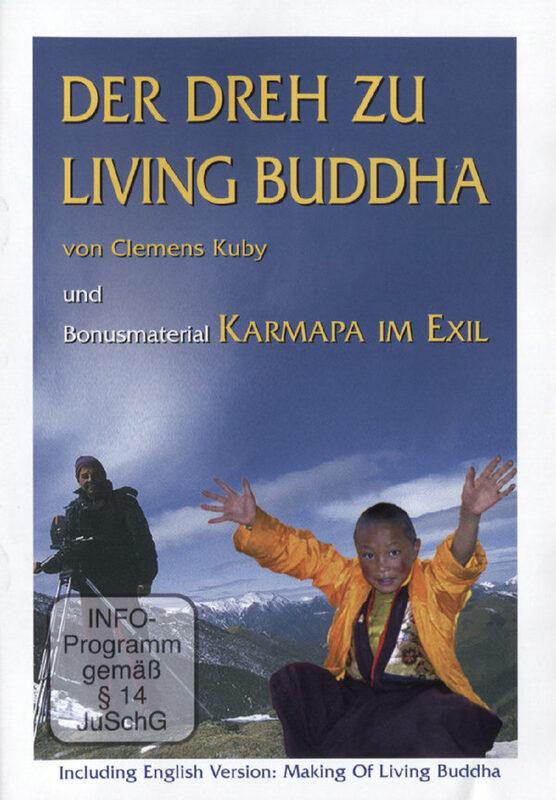 Living Buddha - Der Dreh zu Living Buddha DVD Bild
