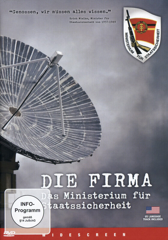 Die Firma - Das Ministerium für Staatssicherheit DVD Bild