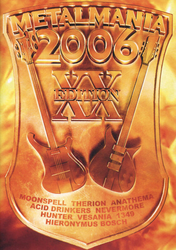 Metalmania 2006  (+ CD) DVD Bild