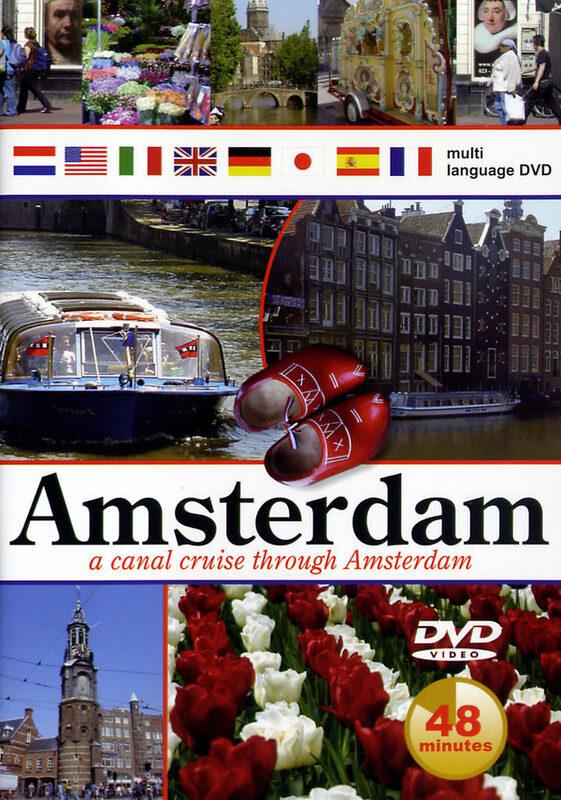 Amsterdam - A Canal Cruise Through Amsterdam DVD Bild