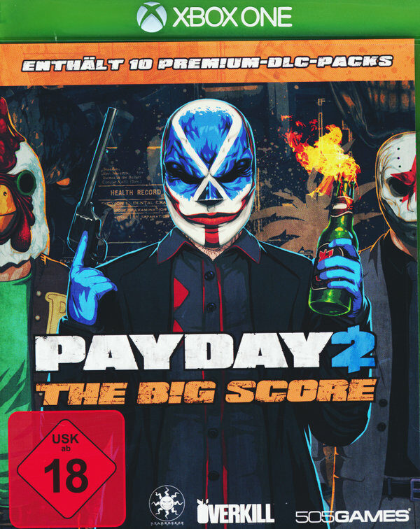 Payday 2 - The Big Score XBox One Bild