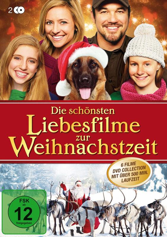 Die schönsten Liebesfilme zur Weih...  [2 DVDs] DVD Bild