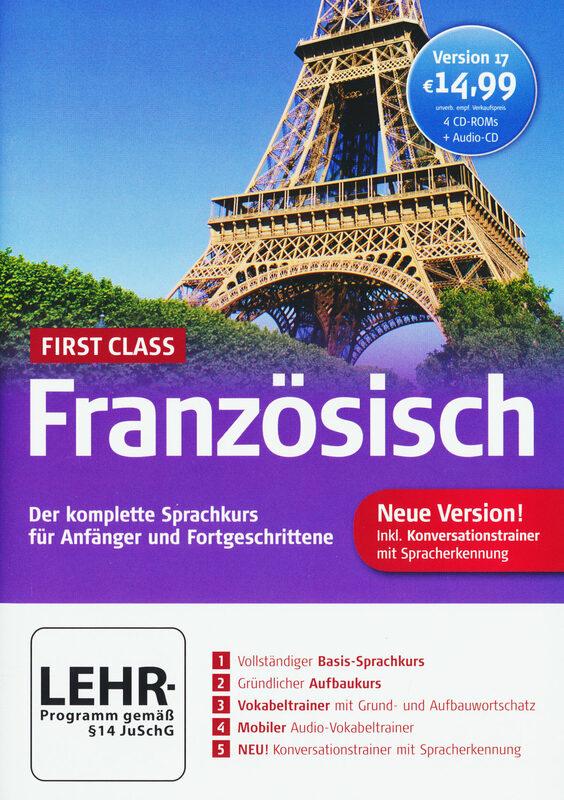 First Class Sprachkurs Französisch 17.0 PC Bild