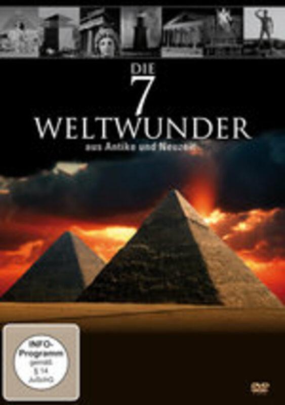 Die 7 Weltwunder aus Antike und Neuzeit DVD Bild