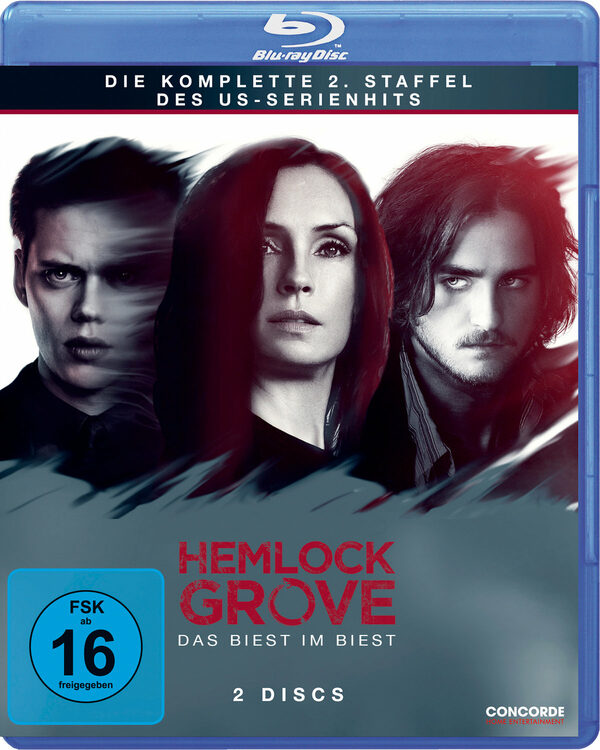 Hemlock Grove - Die kompl.Staffel 2  [2 BRs] Blu-ray Bild