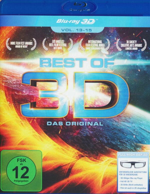 Best of 3D - Vol. 13-15 Blu-ray Bild