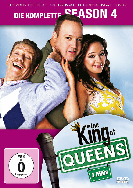King of Queens - Season 4  [4 DVDs] DVD Bild