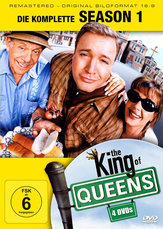 King of Queens - Season 1  [4 DVDs] DVD Bild
