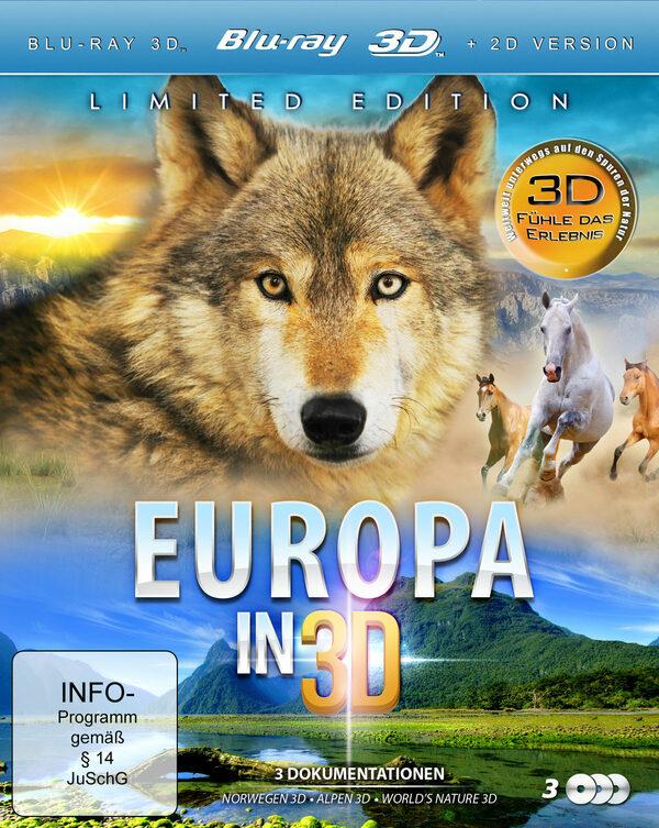 Europa in 3D  [3 BR3Ds] Blu-ray Bild