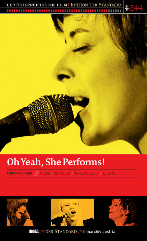 Oh Yeah, She Performs! DVD Bild