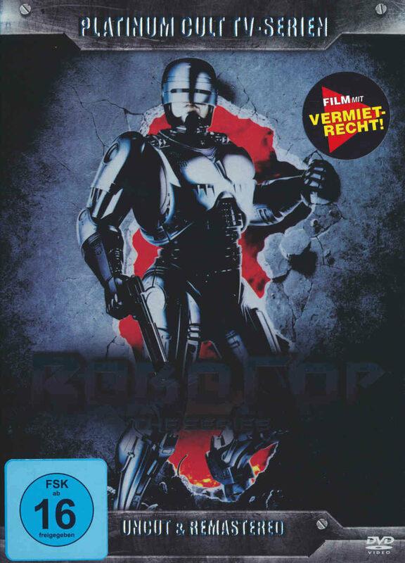 RoboCop - Die Serie - Uncut  [6 DVDs] DVD Bild
