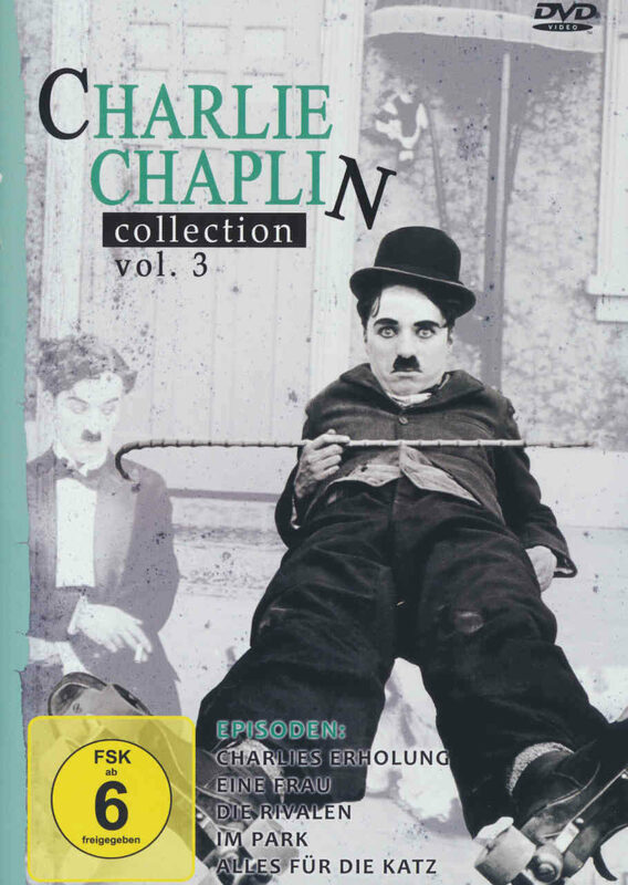 Charlie Chaplin Collection Vol. 3 DVD Bild