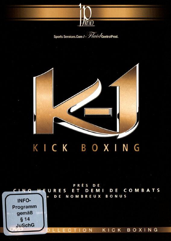 K-1 - Kick Boxing  [3 DVDs] DVD Bild