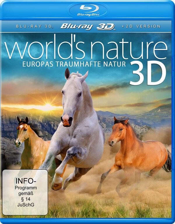 World's Nature 3D - Europas...(inkl. 2D-Version) Blu-ray Bild