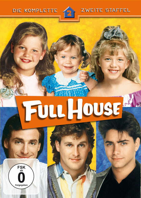 Full House - Staffel 2  [4 DVDs] DVD Bild