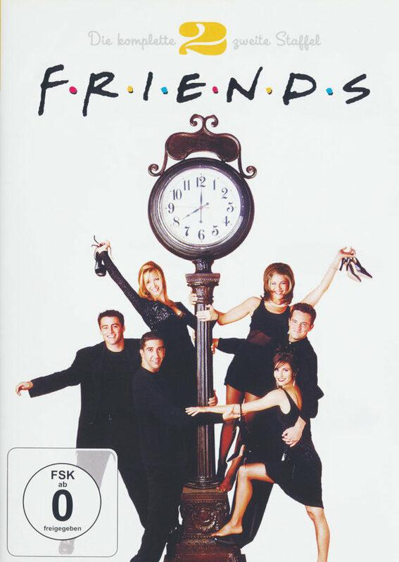 Friends - Box Set / Staffel 2  [4 DVDs] DVD Bild