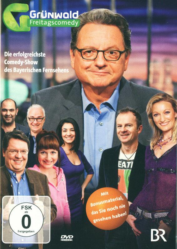 Grünwald - Freitagscomedy 2012 DVD Bild