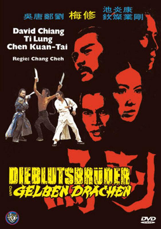 Die Blutsbrüder des gelben Drachen  [LE] DVD Bild