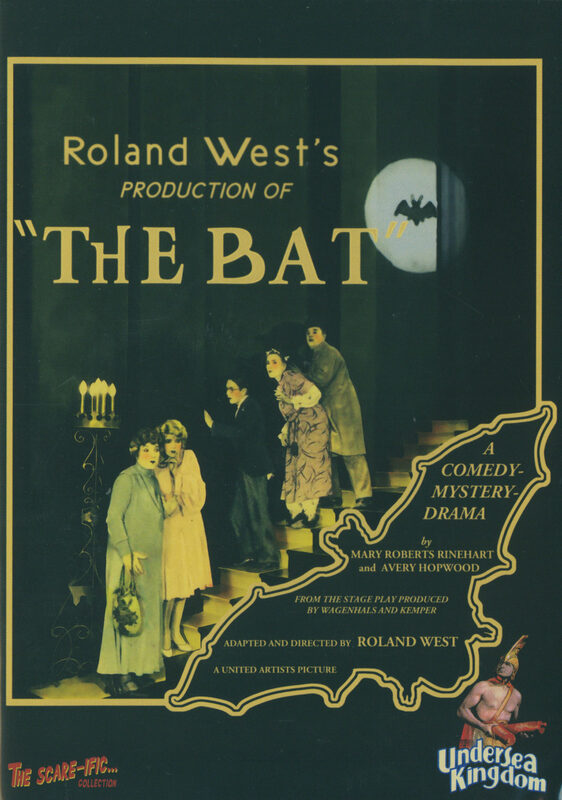 The Bat - The Scare-Ific Collection 04 DVD Bild