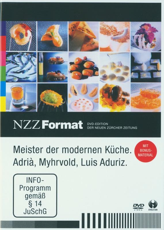 Meister der modernen Küche - NZZ Format DVD Bild