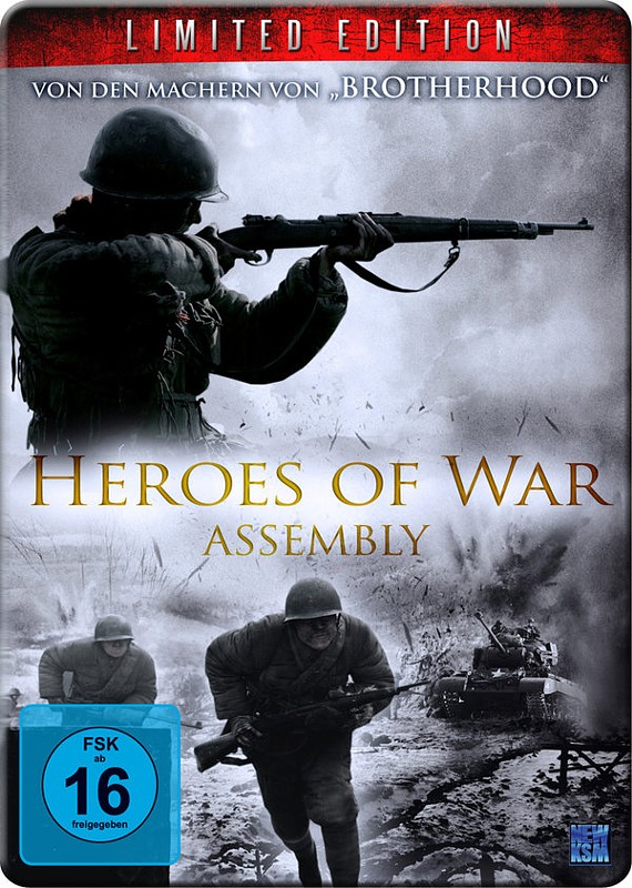 Heroes of War - Assembly  [MP] [LE] DVD Bild