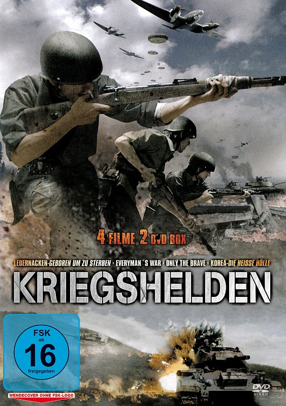 Kriegshelden  [2 DVDs] DVD Bild