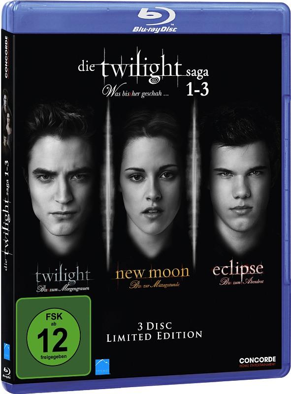 Die Twilight Saga 1-3  [LE] [3 BRs] Blu-ray Bild