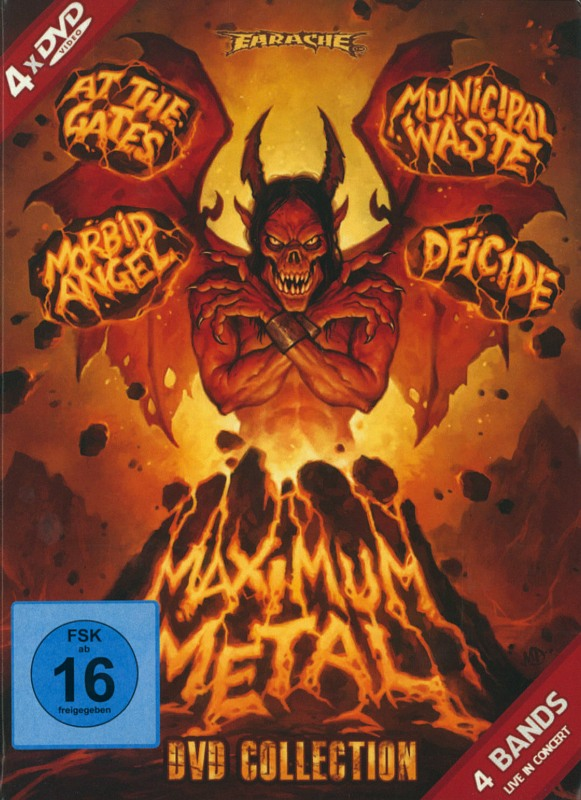 Maximum Metal  [4 DVDs] DVD Bild