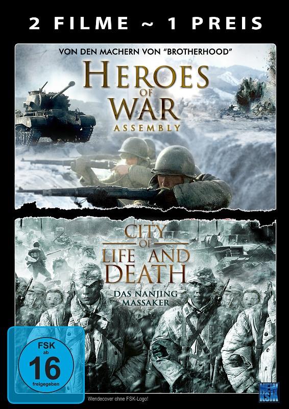 Heroes of War/City Of Life And Death DVD Bild