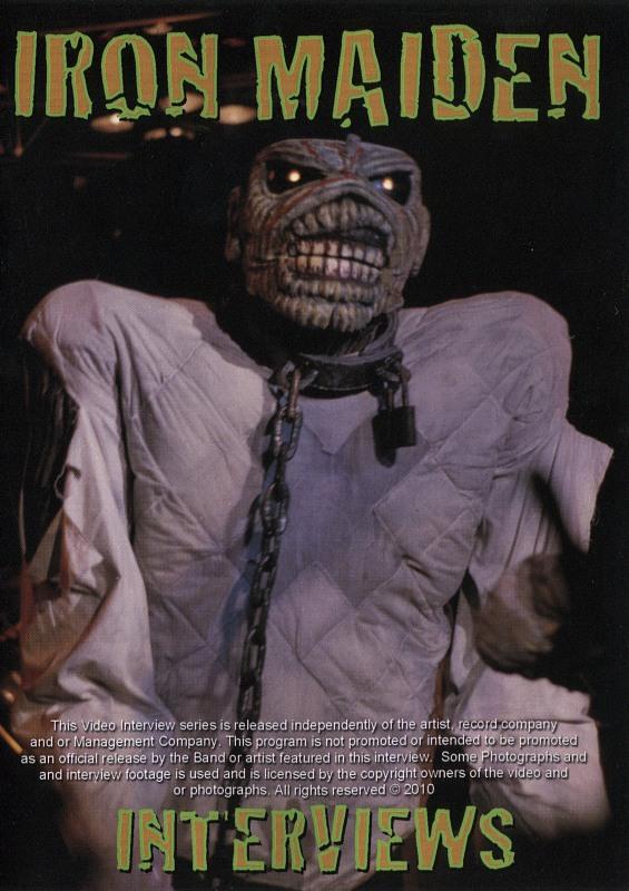 Iron Maiden - Interviews DVD Bild