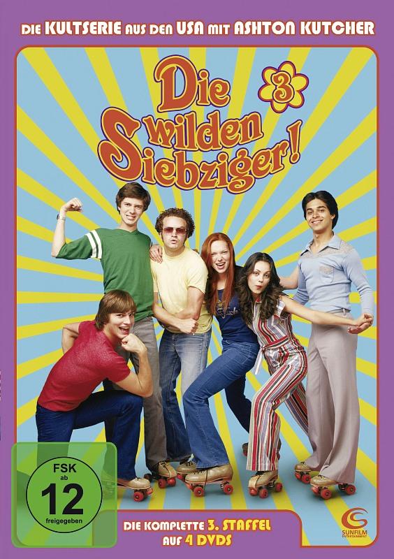 Die wilden Siebziger! - Staffel 3  [4 DVDs] DVD Bild