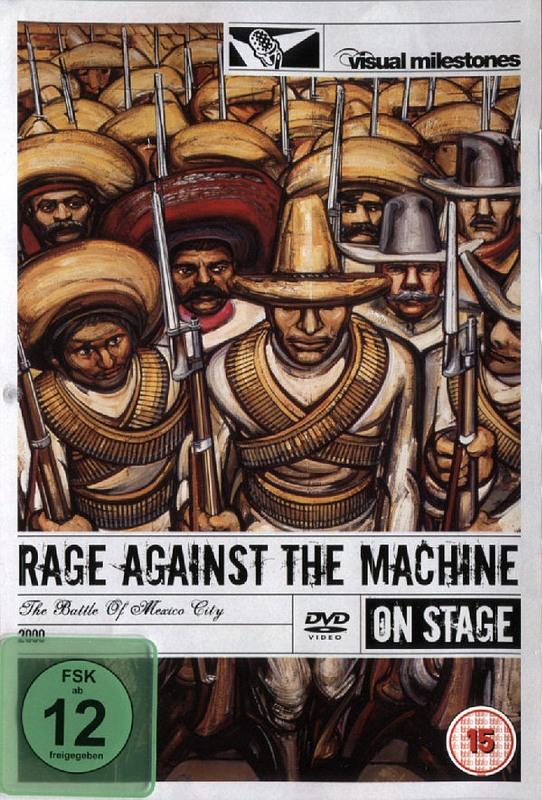 Rage against the Machine - The Battle../On Stage DVD Bild