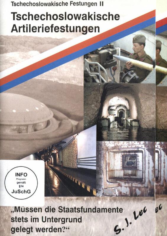 Tschechoslowakische Artilleriefestungen  DVD VK DVD Bild