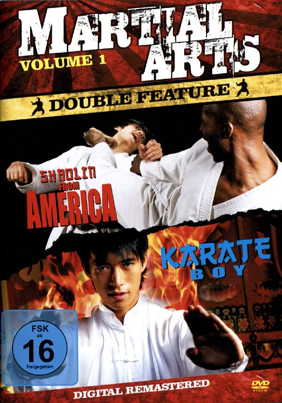 Martial Arts Vol. 1 - Shaolin from America/Kar.. DVD Bild