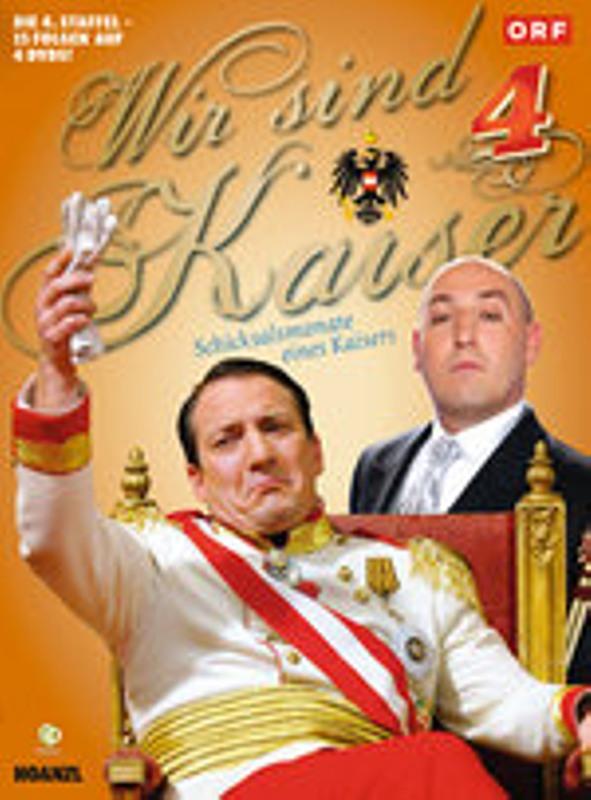 Wir sind Kaiser - Staffel 4  [4 DVDs] DVD Bild