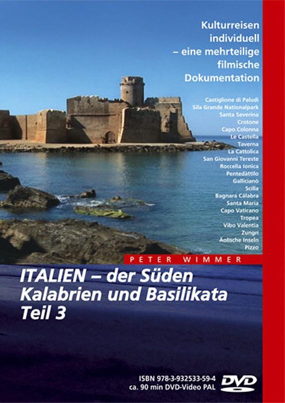 Italien - Der Süden Kalabrien und Basi.. Teil 3 DVD Bild