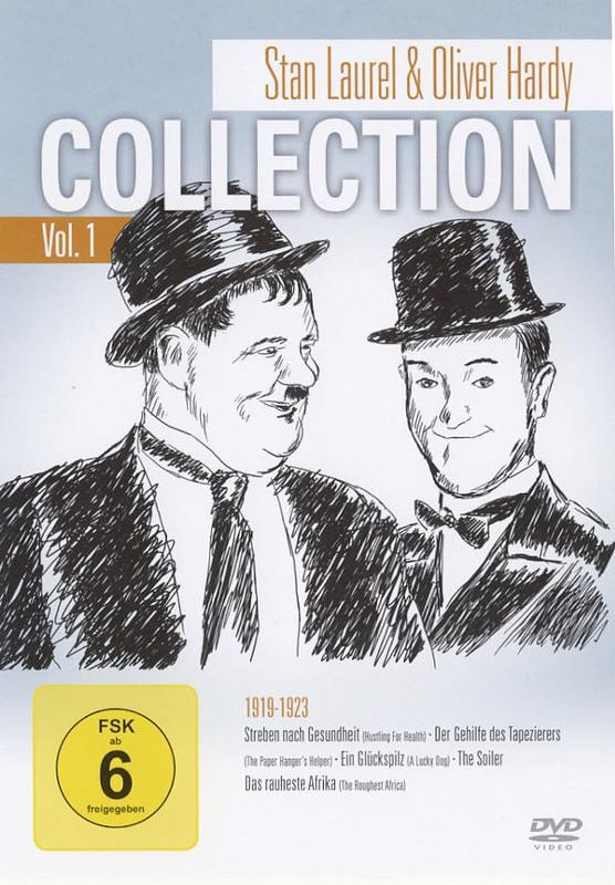 Stan Laurel & Oliver Hardy Collection Vol. 1 DVD Bild