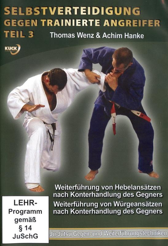 Selbstverteidigung gegen trainierte Angreifer 3 DVD Bild