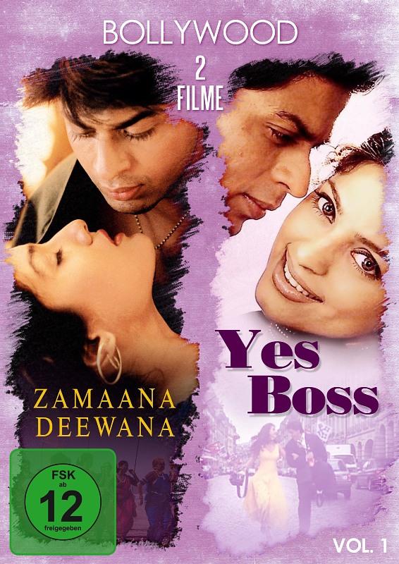 Bollywood - 2 Filme Vol. 1: Zamaana .../Yes Boss DVD Bild