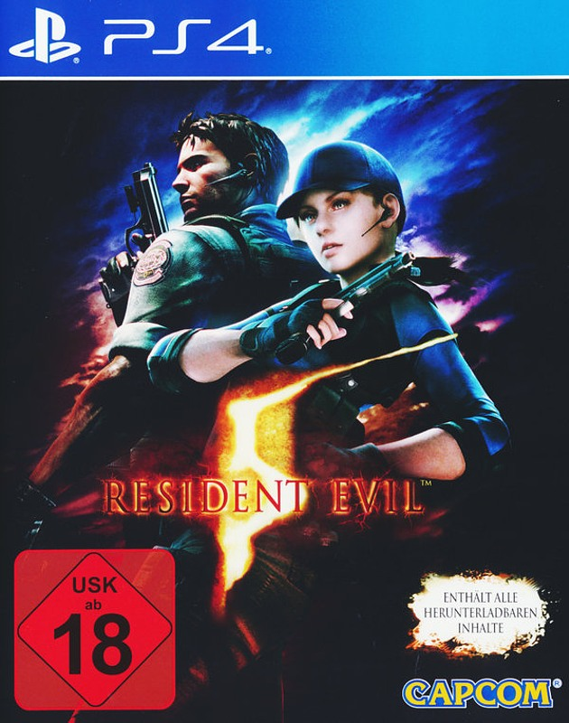 Resident Evil 5 Playstation 4 Bild